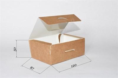Крафт-коробка NEW - 120х85х50мм - фото 4614