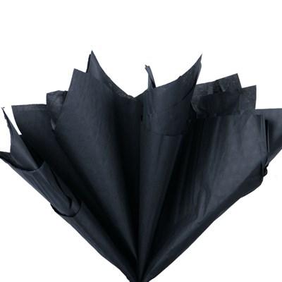 Бумага тишью, черная 51х66см (10 листов) - фото 4879