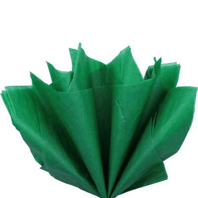 Бумага тишью, зеленая 51х66см (10 листов) - фото 4884