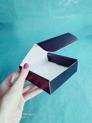 """подарочная коробка """"премиум"""" 110х110х35мм черная - фото 4905"""