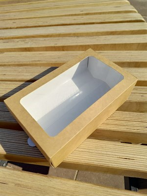 Коробка-пенал с окном 180х110х55мм - фото 4941