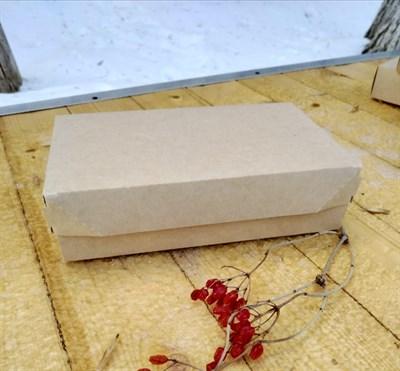"""Крафт-коробка """"Cake"""" - 230х140х60мм - фото 4983"""