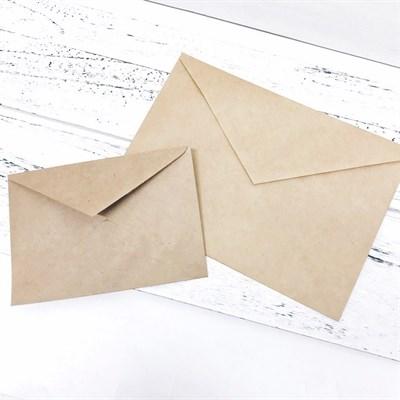 Конверт из крафт-бумаги (С5), 162х229мм - фото 5014