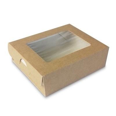 Коробка-пенал с окном - 100х80х30мм - фото 5073
