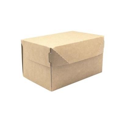 Крафт-коробка Cake - 150х100х85мм, без окна - фото 5078