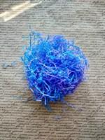 Бумажный наполнитель, синий+фиолетовый