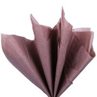 Бумага тишью, коричневая 51х66см (10 листов)