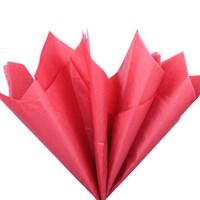 Бумага тишью, красная 51х66см (10 листов)