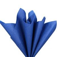 Бумага тишью, темно-синяя 51х66см (10 листов)