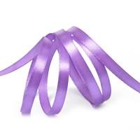 Атласная лента, 6мм*30м, фиолетовая