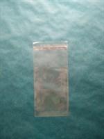 Прозрачный пакет с клеевой полосой, 7х10см