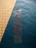 Прозрачный пакет с клеевой полосой, 8х30см