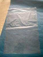 Прозрачный пакет с клеевой полосой, 35х45см
