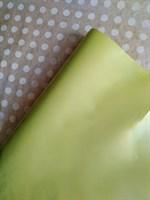 Крафт бумага однотонная, светло-зеленая