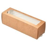 Коробка-пенал с окном 180х55х55мм