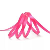 Атласная лента, 12мм*23м, розовая