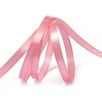 Атласная лента, 12мм*23м, светло-розовая