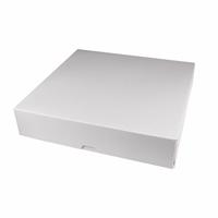 Коробка для пирога 285х285х60мм, Белая