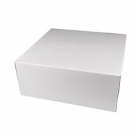 Коробка для торта, 255х255х120мм, Белая
