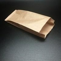 Бумажный крафт пакет с плоским дном (80х45х100)
