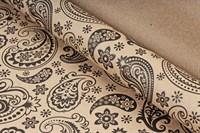 "Крафт бумага с рисунком""Огуречный узор""0,72х10м, 70г/м."