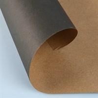 Крафт бумага Черная 1 сторонняя 0,7х10м, 70г/м.