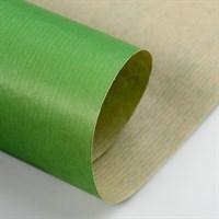 Крафт бумага Зеленая 1 сторонняя 0,7х10м, 70г/м.