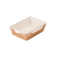 "Крафт контейнер ""Салатник"" 800мл, 186х106х55мм"