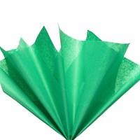 Бумага тишью, зеленая 51х66см (10 листов)