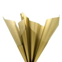 Бумага тишью, золотистая 51х66см (10 листов)