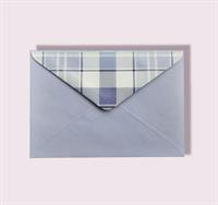 Подарочный бумажный конверт 114х162мм (С6) лавандовый