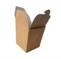 Крафт коробка для вока, 95х95х100мм, 560мл